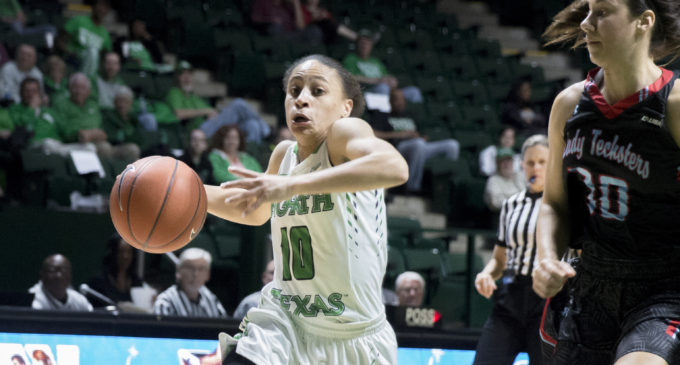 Women's basketball bested by Charlotte despite two career-highs