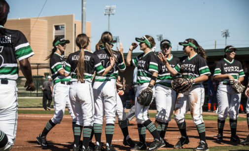 Softball falls flat on day two of North Texas Invitational