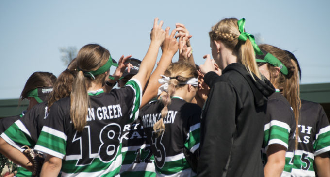 Softball earns first day sweep at North Texas Invitational