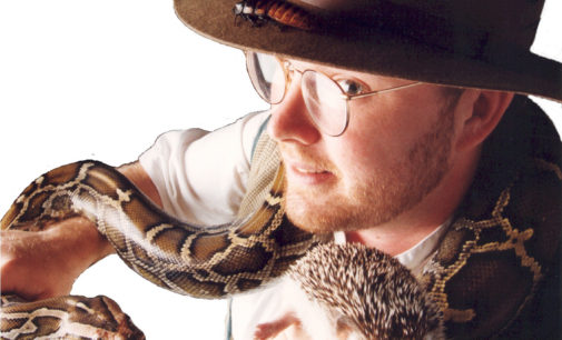Denton 'Critterman' rescues exotic animals and educates public