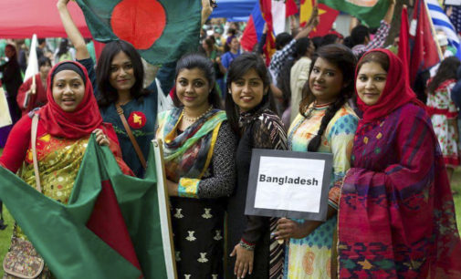 Students remember meaning of International Mother Language Day