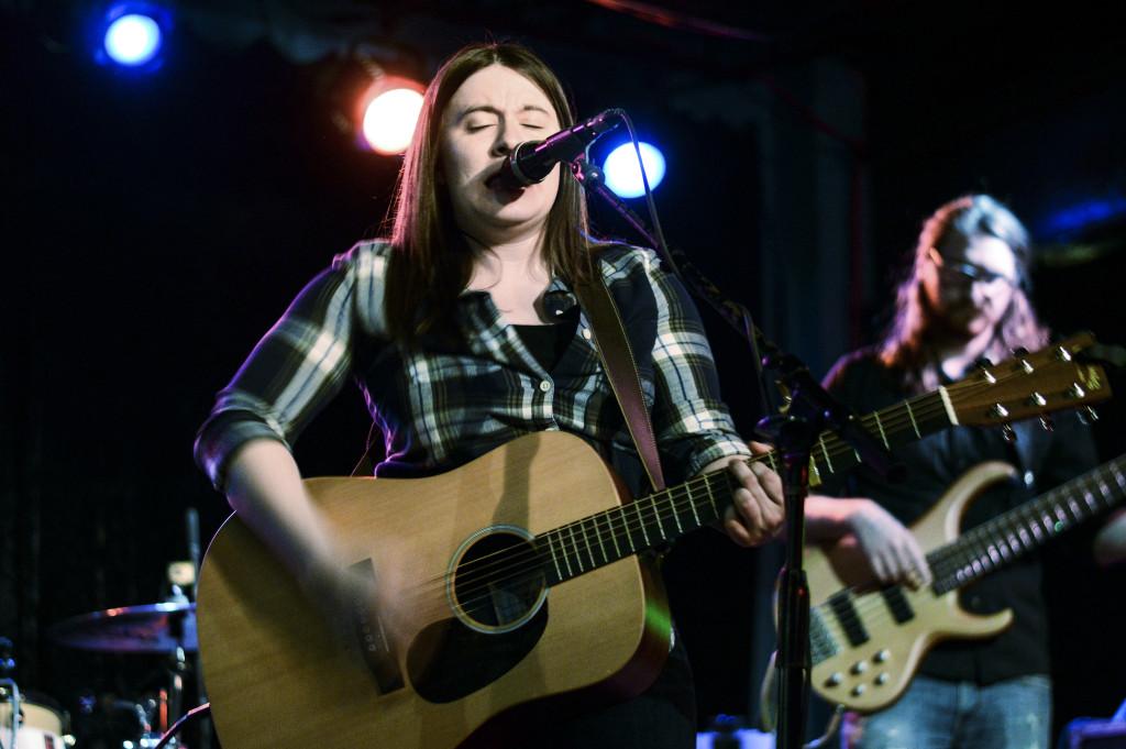 Melissa Ratley kicks off Thin Line Festival at Dan's Silverleaf on Wednesday, Feb. 17. Haley Yates | Staff Photographer