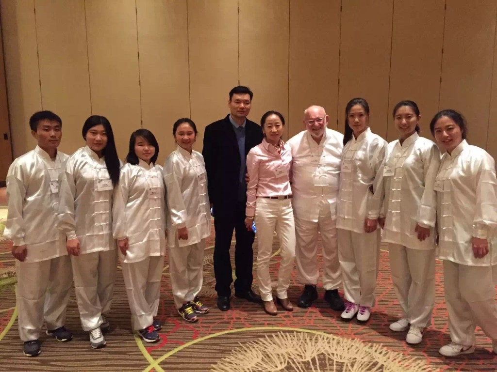 Kinesiology, Health Promotion and Recreation department faculty members and visiting students from East China Normal University attended the 2015 TAHPERD (Texas Association of Health, Physical Education, Recreation and Dance) in Dallas in December of 2015. Photo courtesy of associate professor of sport pedagogy Tao Zhang.