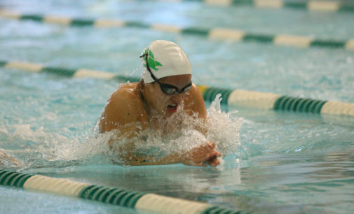 Swimming and Diving comeback falls short in last dual meet of season