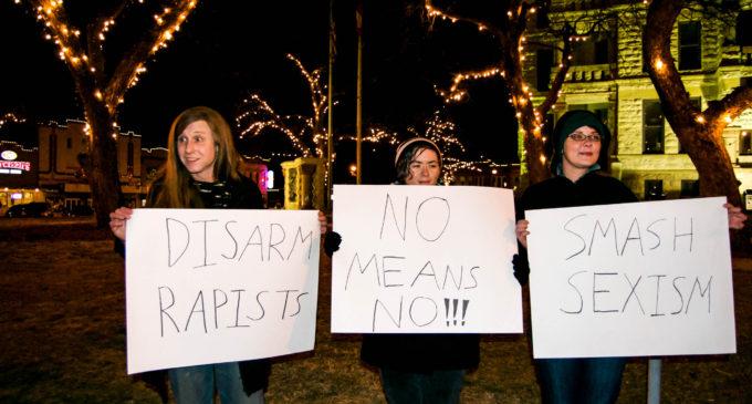 Denton says NO to 'pro-rape' group