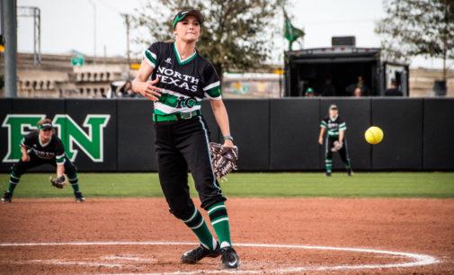 Craine helps softball salvage split to open tournament