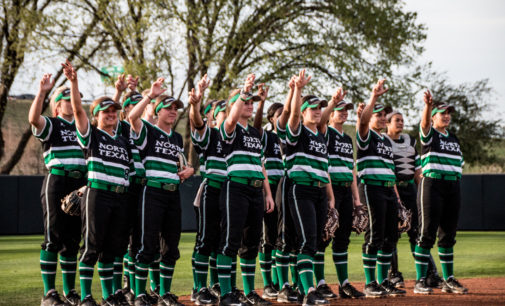 Tough non-conference scheduling not phasing softball team
