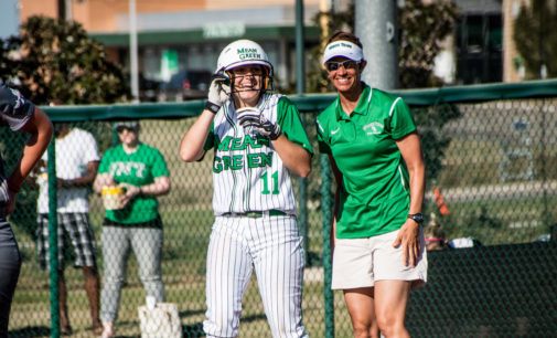 Softball sweeps Saturday double-header against Tennessee Martin, Nicholls State