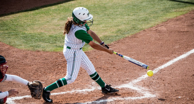 Crank it up: Walk-up music helps softball players settle in
