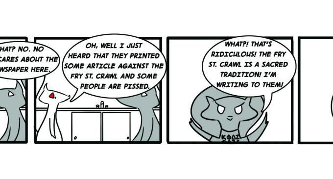 Squirrels On Campus: Readership