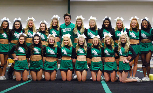 North Texas cheer squad hosts exhibition in preparation of national competition