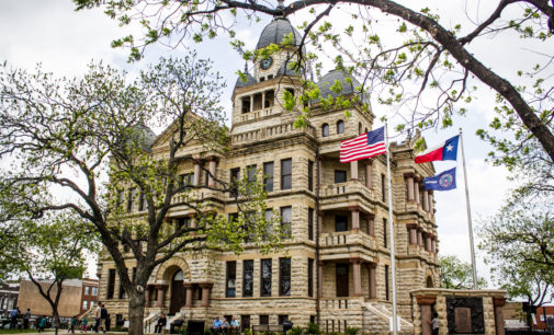 Changing times on the Denton Square