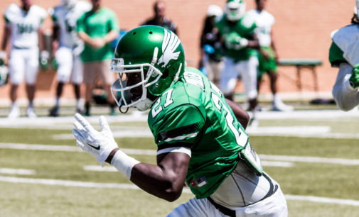 Goree, receiving corps shine in football spring game
