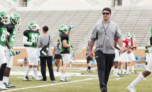 Mean Green lose defensive tackle Bryce English to broken foot