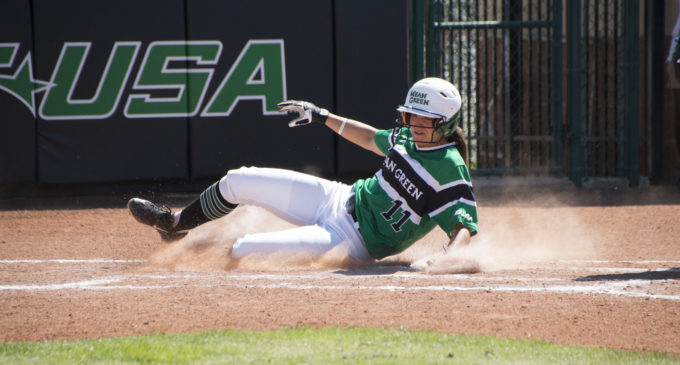 Softball swept by Louisiana Tech, eliminated from postseason play
