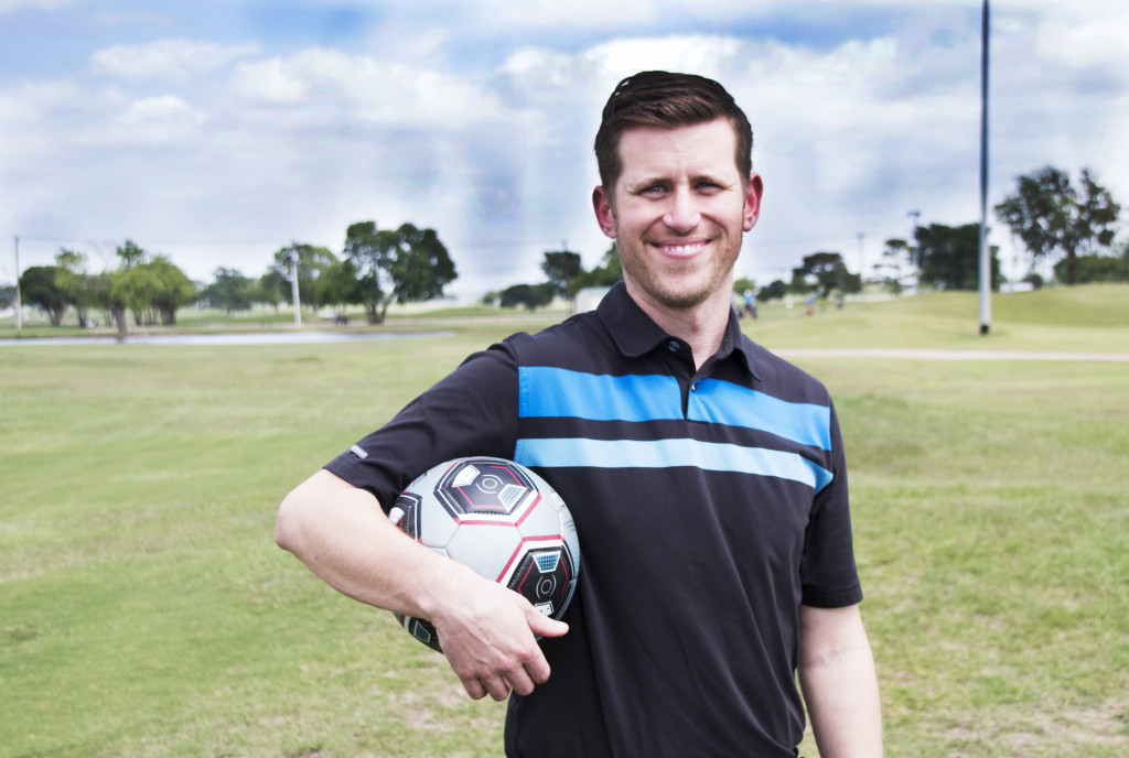 Andrew Randich is the general manager of Lake Park Golf Course in Lewisville, Texas. One of many courses across the country to impliment foot golf. Dylan Nadwodny   Staff Photographer
