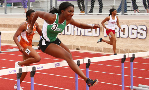 Track and field compete against Big 12 competition in Texas Tech Classic
