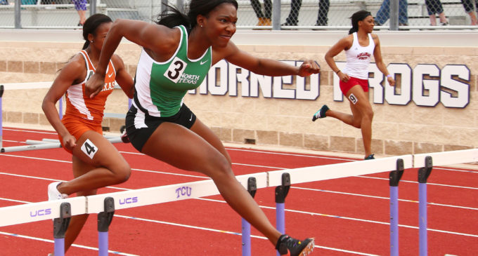 Track and field earns 18 top-10 finishes at K.T. Woodman Classic