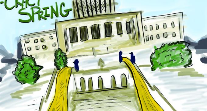 Cartoon: Jail Slide