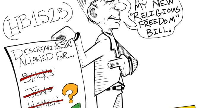 Cartoon: RELIGIOUS FREEDOM
