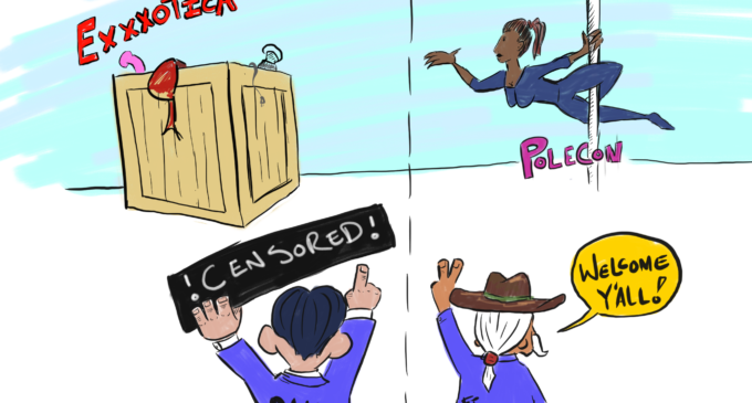 Cartoon: A Lone Star Double Standard