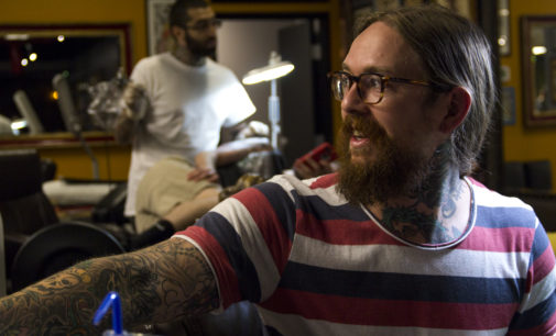 Tattoo artist's work leaps from people onto places