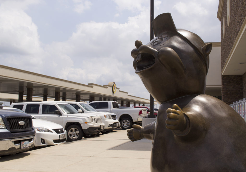 Buc-ee's beaver will welcome guests as it plans to open a new location in Denton. Tomas Gonzalez | Visuals Editor