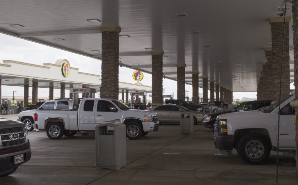 Buc-ee's hosts 60 gas pumps and spans over 15 acres in New Braunfels. Tomas Gonzalez | Visuals Editor