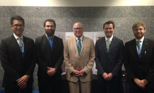 UNT Students recognized for developing concept for airport app