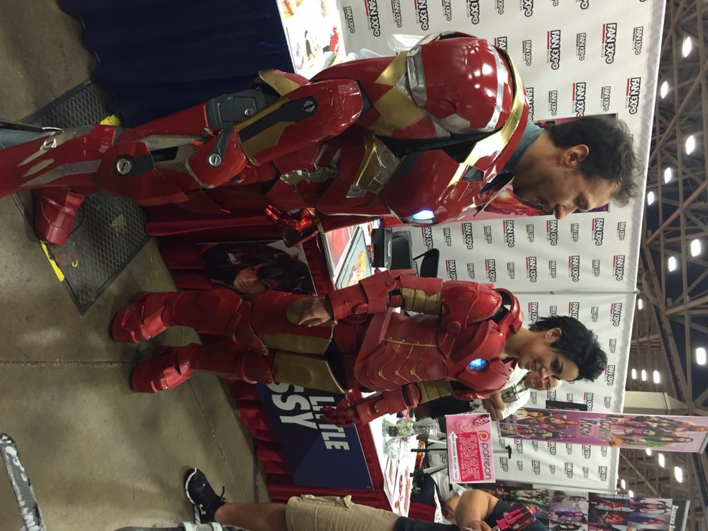 Cosplay provides another outlet for expression at cons. Iron Man was one of the most popular cosplay outfits during Saturday of the con's weekend. Kayleigh Bywater | Senior Staff Writer