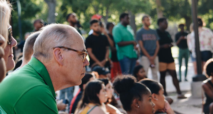 Protester from Dallas shooting, Black Student Union highlight UNT remembrance