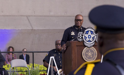 Dallas Police Chief to leave department