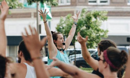 Spreading good karma: yoga offers solace through tribulation