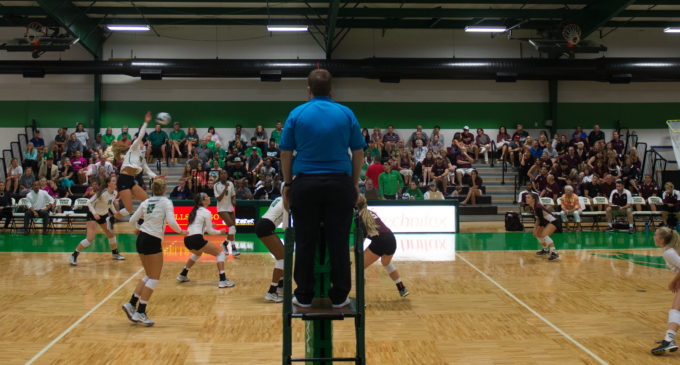 Mean Green volleyball swept in day 2 of North Texas Challenge