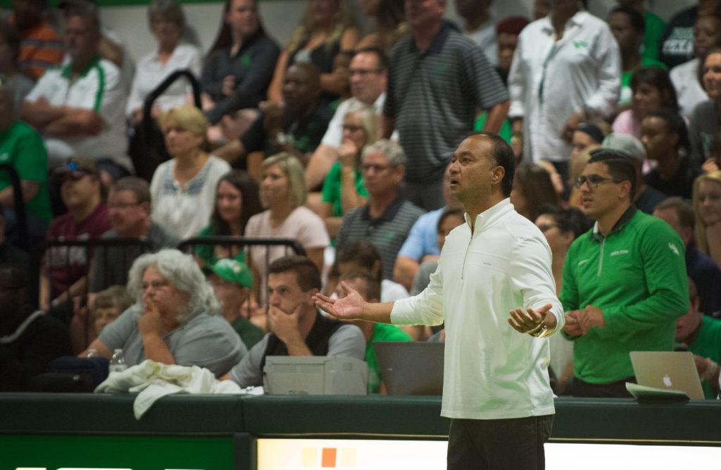 Mean Green Volleyball head coach