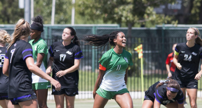 Schoening's shutout guides North Texas soccer to win over ACU