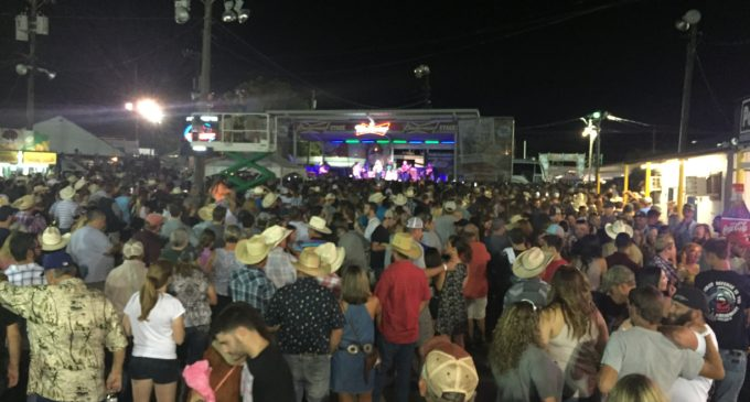 A night with Charlie Daniels at the North Texas State Fair and Rodeo