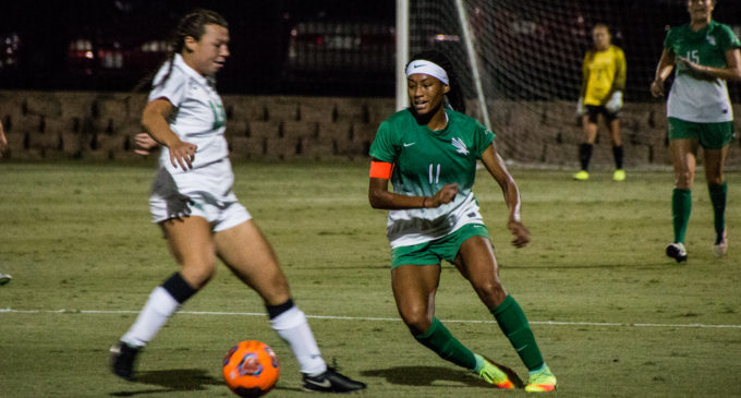 Mean Green soccer holds off Marshall in championship rematch