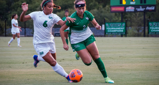 Mean Green soccer uses early goal to hold off the Miners on road