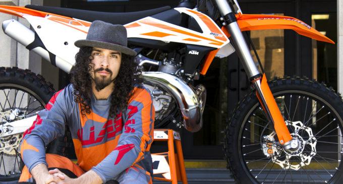 UNT new home for former pro-motocross star Blake Wharton