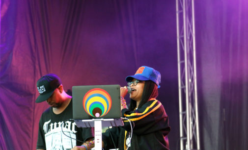 Erykah Badu rocks Oaktopia with old school mixes