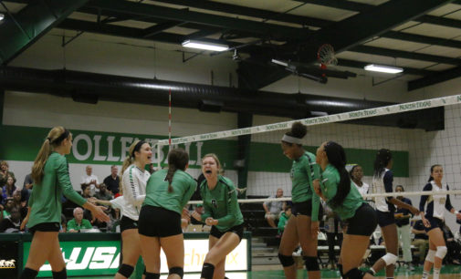 North Texas volleyball earns first C-USA win