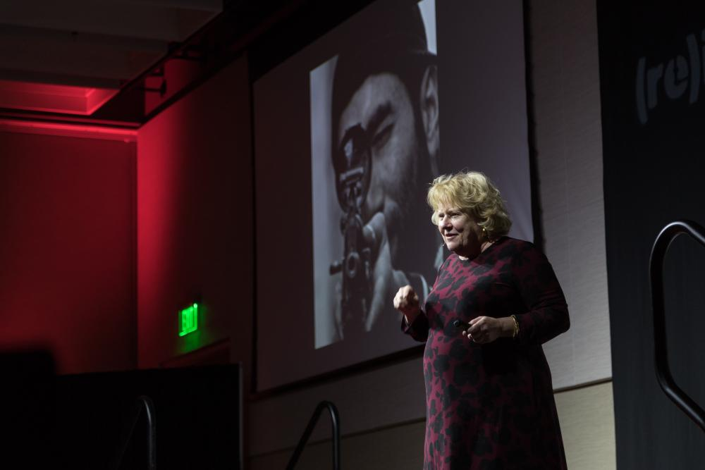Susan Motheral at TEDx UNT (re)imagining.