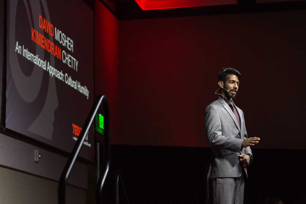 Kimendran Chetty at TEDx UNT (re)imagining. Vishal Malhotra - CLEAR