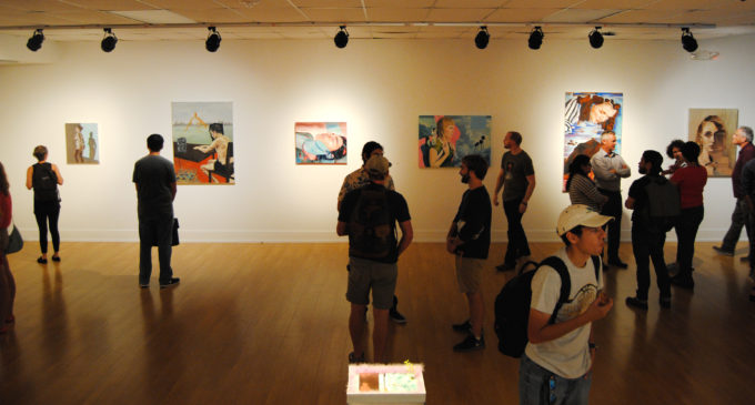 Top art students recognized in junior review art reception