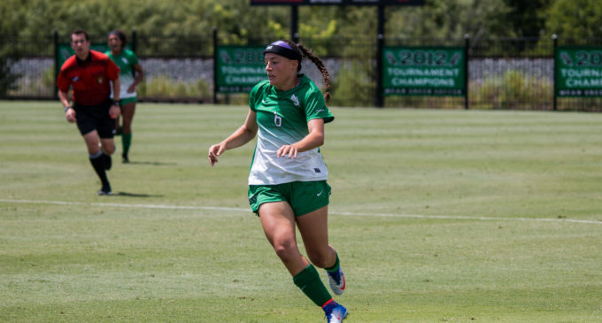 North Texas soccer relying on depth and bench production