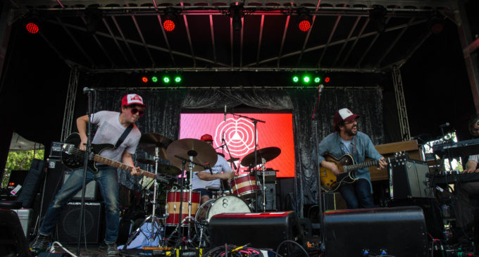 White Denim fiery on UNT stage during second day of Oaktopia