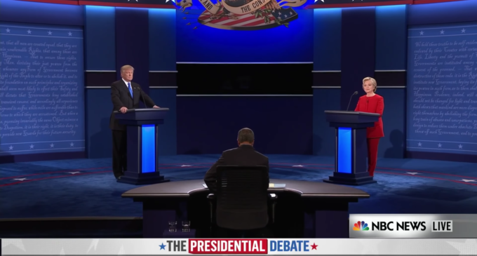 A clash of two personalities, the first presidential debate