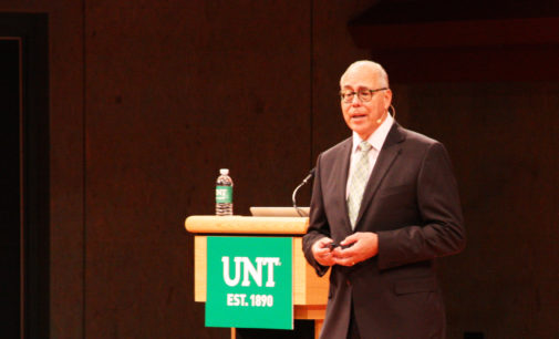 In third address, Smatresk outlines some of UNT's next moves