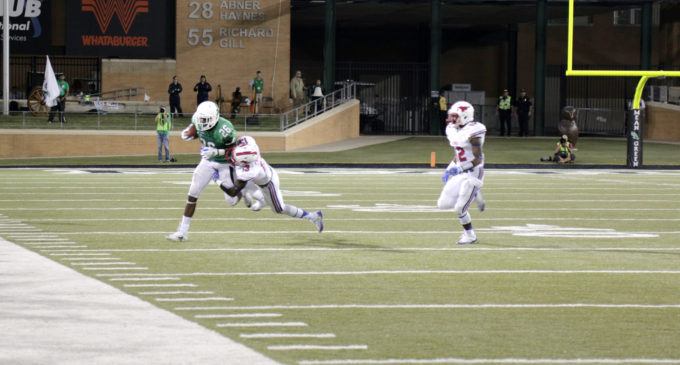 North Texas football not satisfied with performance in first game